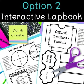Ireland Country Research Project, PBL:Interactive Lapbook and Notebook