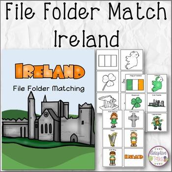 Ireland File Folder Matching