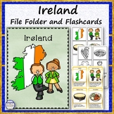 Ireland File Folder and Flashcards