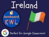 Ireland - KWL Charts for Jamboard (Distance Learning, St.