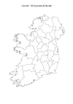 Map Of Ireland 32.Ireland Map Worksheets Teaching Resources Teachers Pay Teachers