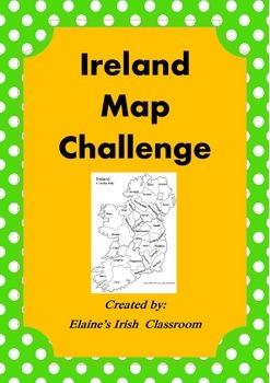 Ireland Map Activity