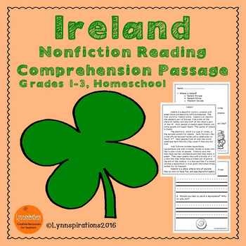 Ireland Reading Comprehension
