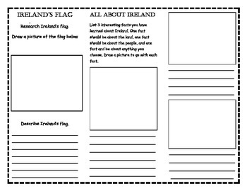Ireland Research Trifold
