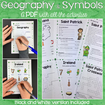 Workspace Interactive Activities: Ireland, Symbols and the Legend of St Patrick