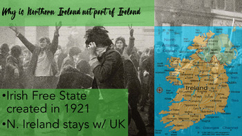 Ireland and Northern Ireland Conflict INTERACTIVE PowerPoint with KAGAN!