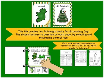Ireland and St. Patrick's Day:  Interactive Book Bundle