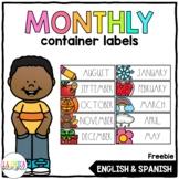 Iris Scrapbook Case Monthly Labels