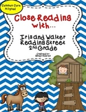 Iris and Walter Close Reading Sheets 2nd Reading Street CCSS