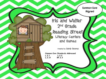 Iris and Walter Literacy Centers Common Core Reading Street
