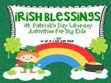 Irish Blessings *St. Patrick's Day Themed Literacy Activit