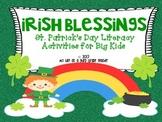 Irish Blessings *St. Patrick's Day Themed Literacy Activit