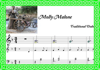 St patrick's day-Molly Malone-dublin song.Irish Celtic.Boomwhackers