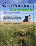Irish Dancer Fun Activites