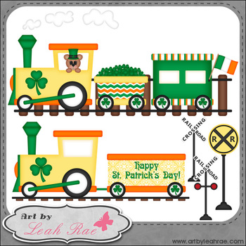 Irish Express 1 - Art by Leah Rae Clip Art & Line Art / Digital Stamps