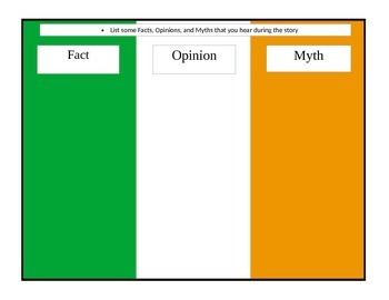 Irish Flag Worksheet