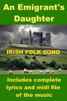 Irish Folk Song - An Emigrant's Daughter