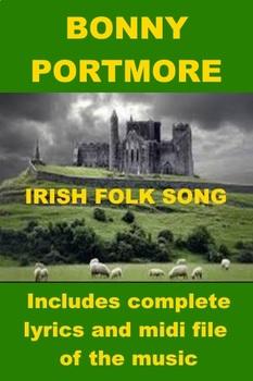Irish Folk Song - Bonny Portmore