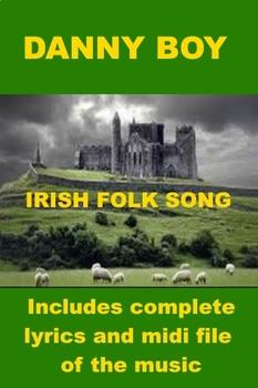 Irish Folk Song - Danny Boy