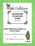 Irish Folklore LITERARY ANALYSIS TASK Test Prep for PARCC & LEAP 2025