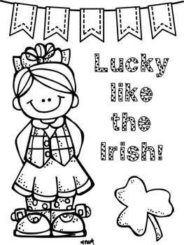 Irish Glyphs - Celebrating St. Patrick's Day