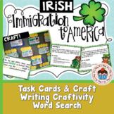Irish Immigration to America with Crafts -  No Prep!