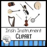 Irish Instrument Clipart