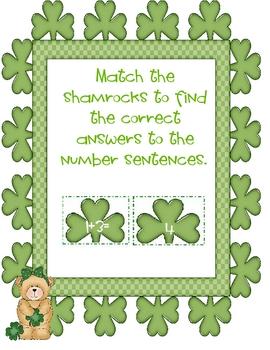 Irish Jig Jigsaw Adding and Subtracting