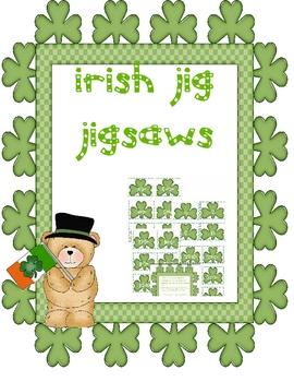 Irish Jig Jigsaws Multiplying 2, 4 and 8 Times Tables
