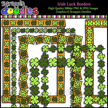 Irish Luck Full Page Borders
