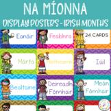Gaeilge - Irish Months of the year