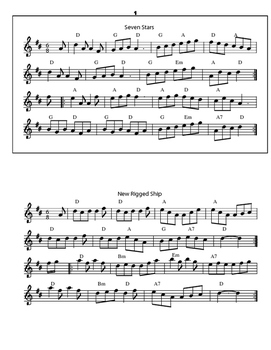 Irish Music for Guitar and Fiddle