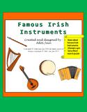 Irish Musical Instrument -Short Description, Quiz, Word Search