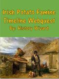 Irish Potato Famine Timeline Webquest