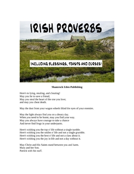 Irish Proverbs - Including Blessings, Toasts and Curses!