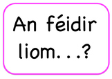 Irish Question Starters