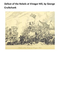 Irish Rebellion of 1798 Handout
