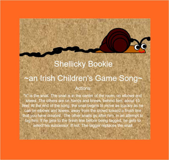 Irish-SHELLICKY BOOKIE- Game Song-Smartboard File- MELODY: do-re-mi-so-la
