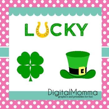 Irish, St. Patrick's Day, Lucky Clipart