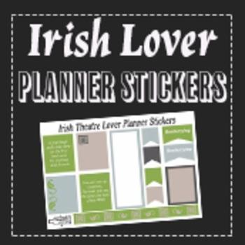 Irish Theatre Lover Planner Stickers