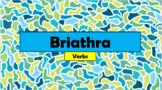 Irish (Gaeilge) - Verbs Vocabulary (Duolingo) - PowerPoint