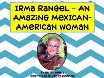 Irma Rangel Mini-Unit - Texas Second Grade