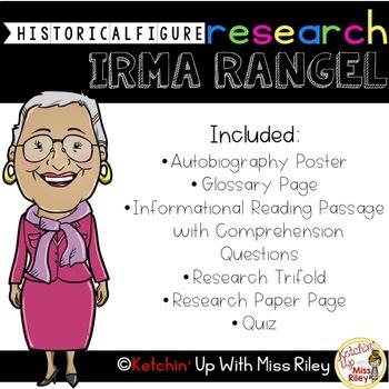 Irma Rangel Research Packet