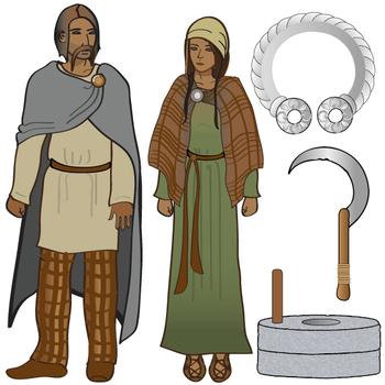 Iron Age Clip Art Set - Ancient History