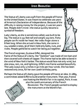 Iron Beauties: The Statue of Liberty and The Eiffel Tower