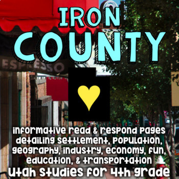 Iron County, Utah, Informative Reading and Writing - Social Studies