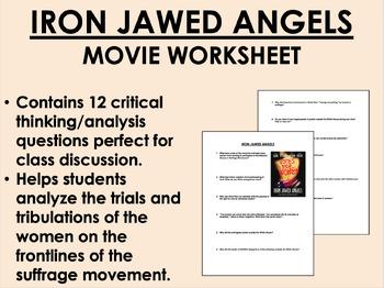 Iron Jawed Angels Movie Worksheet - USH/APUSH