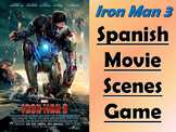 Iron Man 3 Spanish Movie Scenes Electronic Game - El Hombre de Hierro