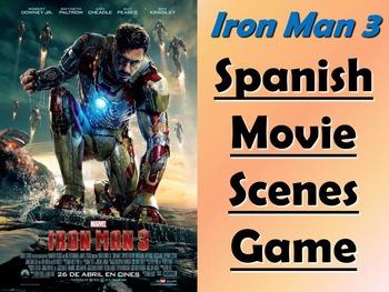 Iron Man 3 Spanish Movie Scenes Electronic Game - El Hombr