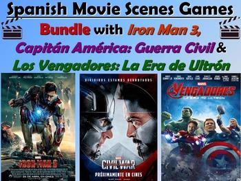 Superheroes Bundle -Iron Man, Captain America & The Avenge